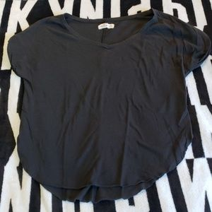 Hollister t shirt with hip cut outs